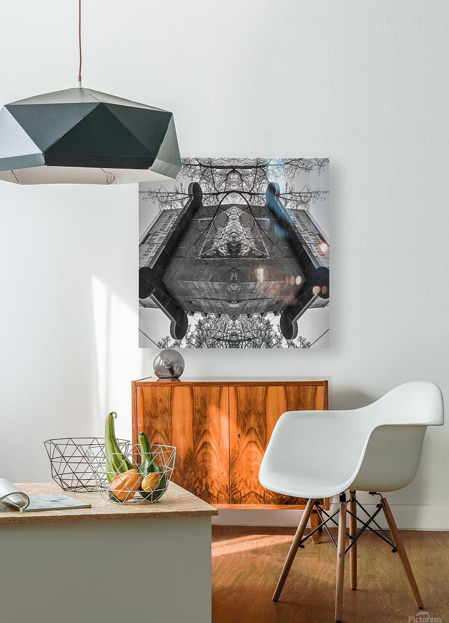 Vienna - Aquarium  HD Metal print with Floating Frame on Back