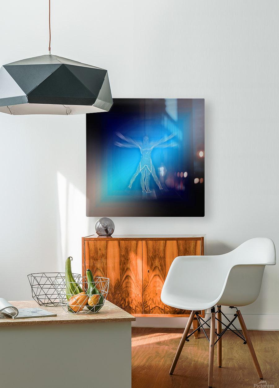 VV  HD Metal print with Floating Frame on Back
