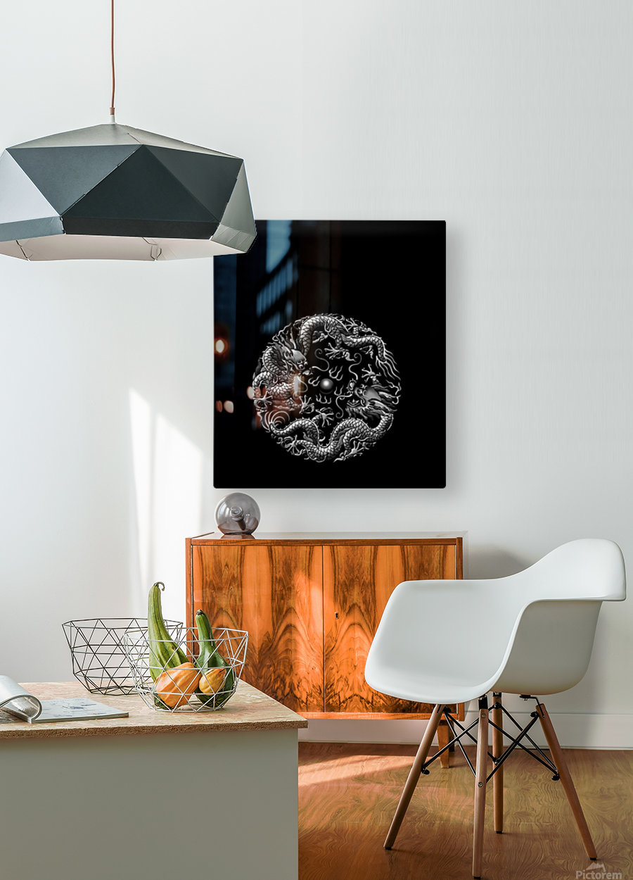 Chinese Concept 42A  HD Metal print with Floating Frame on Back