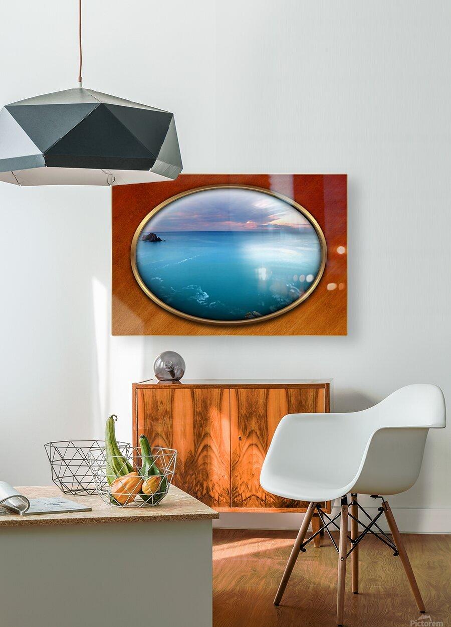 Landscape-10  HD Metal print with Floating Frame on Back