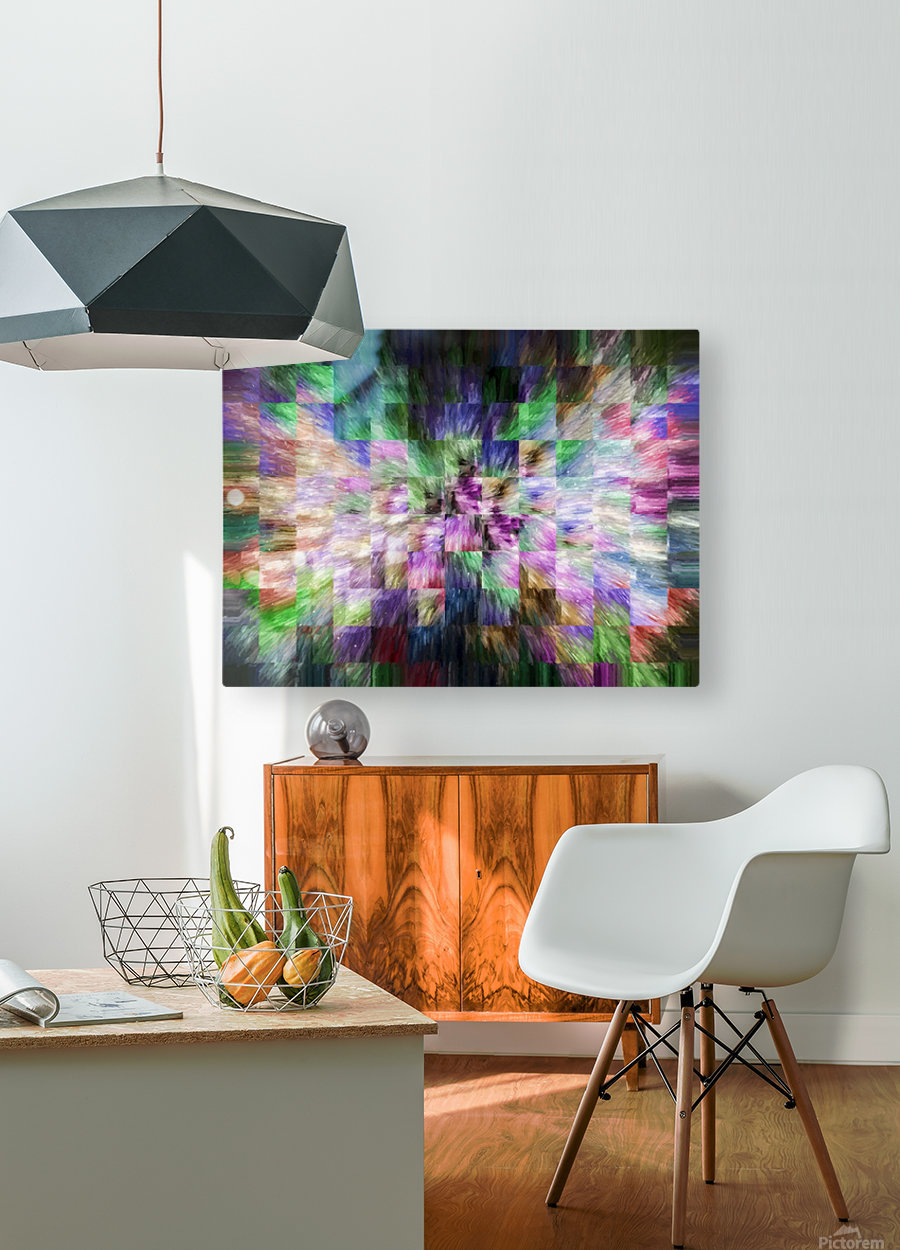 A Brush of Angel Wings  HD Metal print with Floating Frame on Back