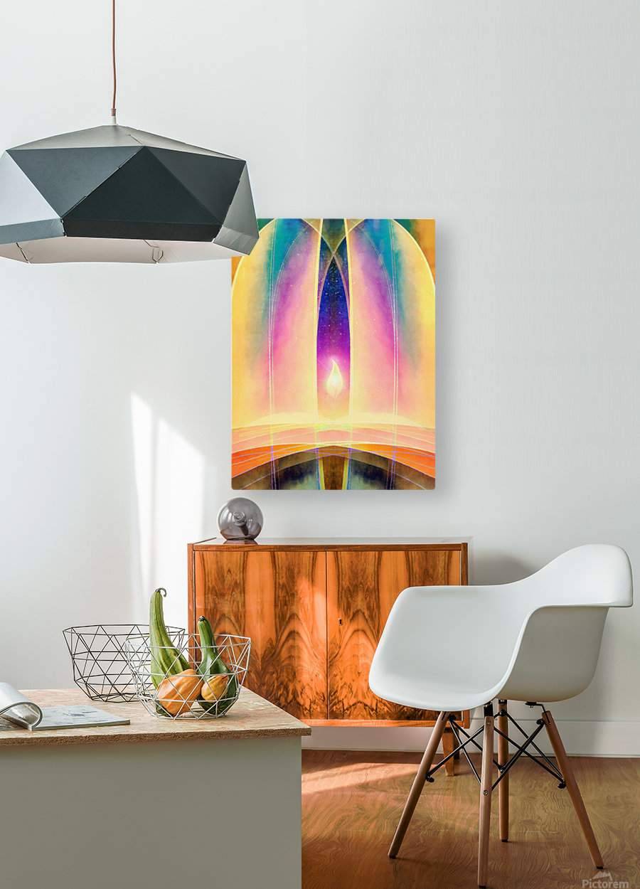 In the Hall of the Mountain King  HD Metal print with Floating Frame on Back