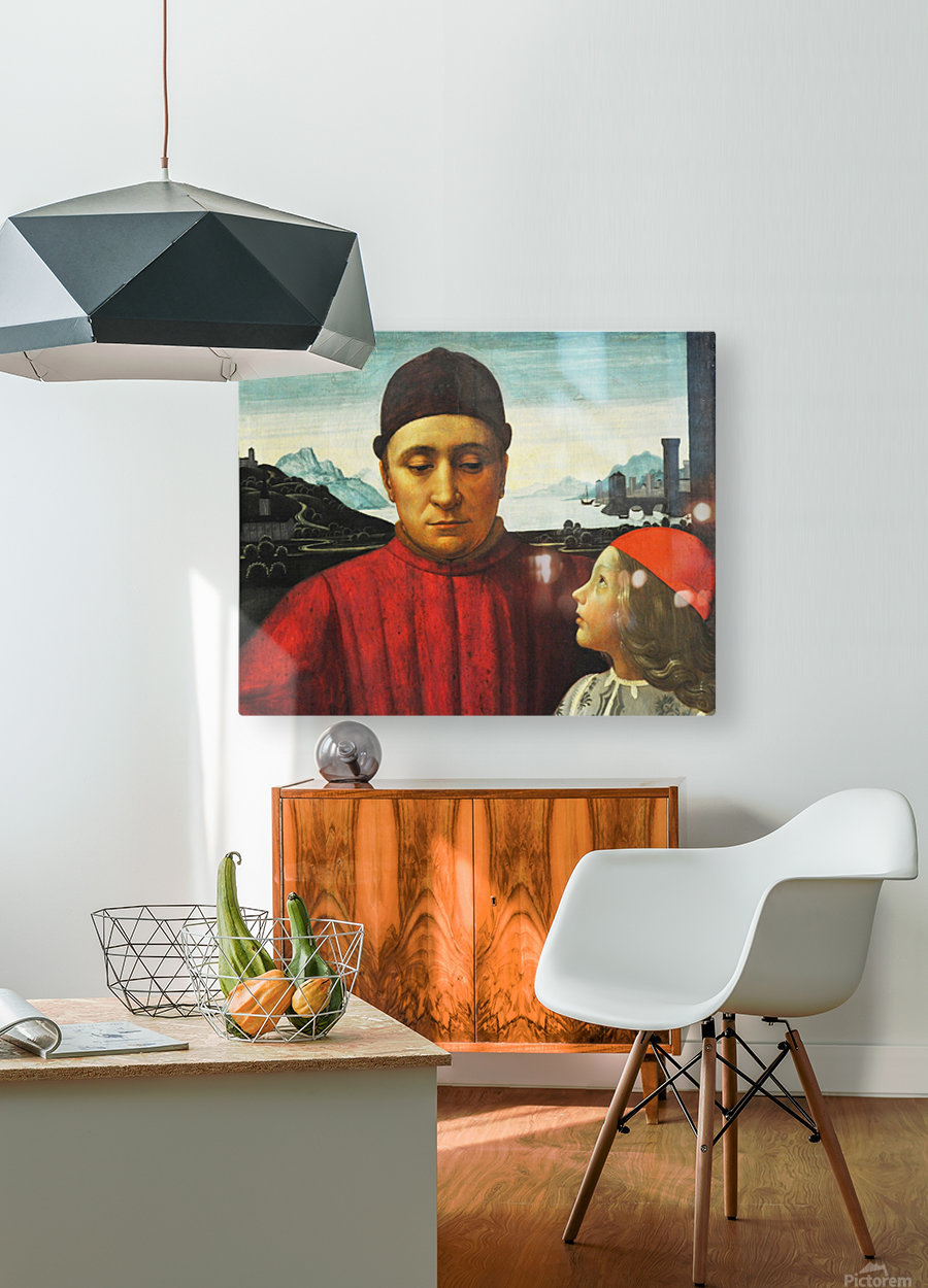 Theodoro  HD Metal print with Floating Frame on Back