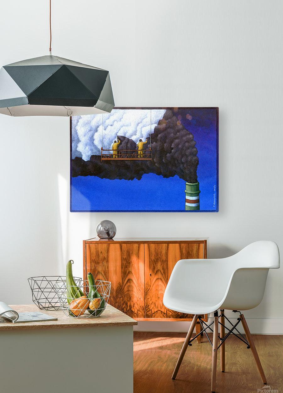 Pawel Kuczynski 21  HD Metal print with Floating Frame on Back