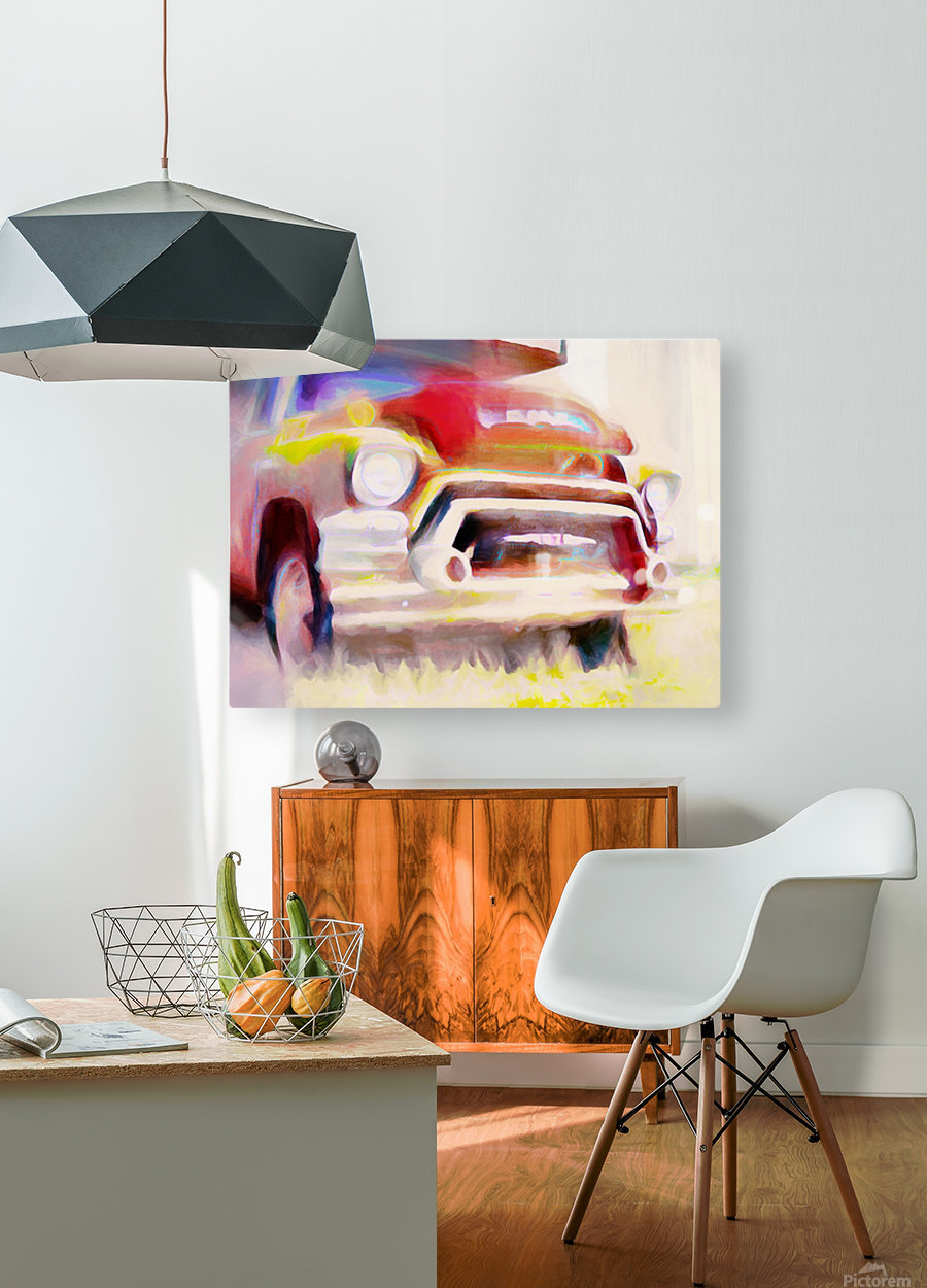 The Moving Van Moves No More  HD Metal print with Floating Frame on Back