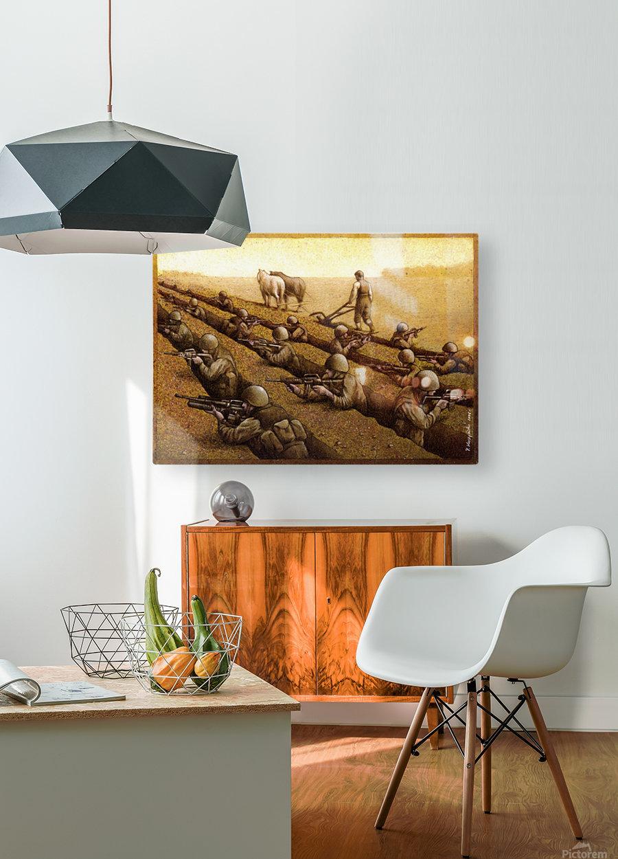 Pawel Kuczynski 26  HD Metal print with Floating Frame on Back
