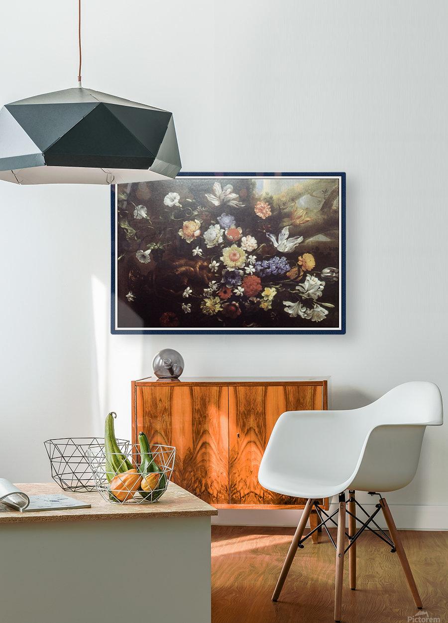 Howard010_Fotor floral1 copy  HD Metal print with Floating Frame on Back