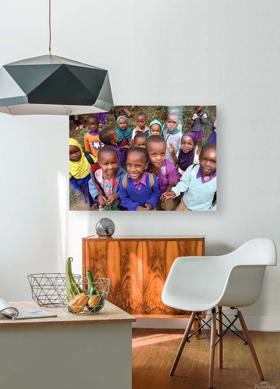 Many Faces of Africa  HD Metal print with Floating Frame on Back