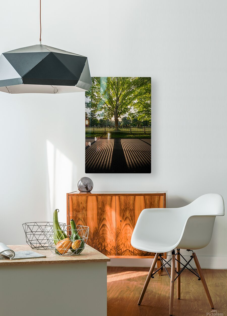 Sunrise in Dunstable  HD Metal print with Floating Frame on Back