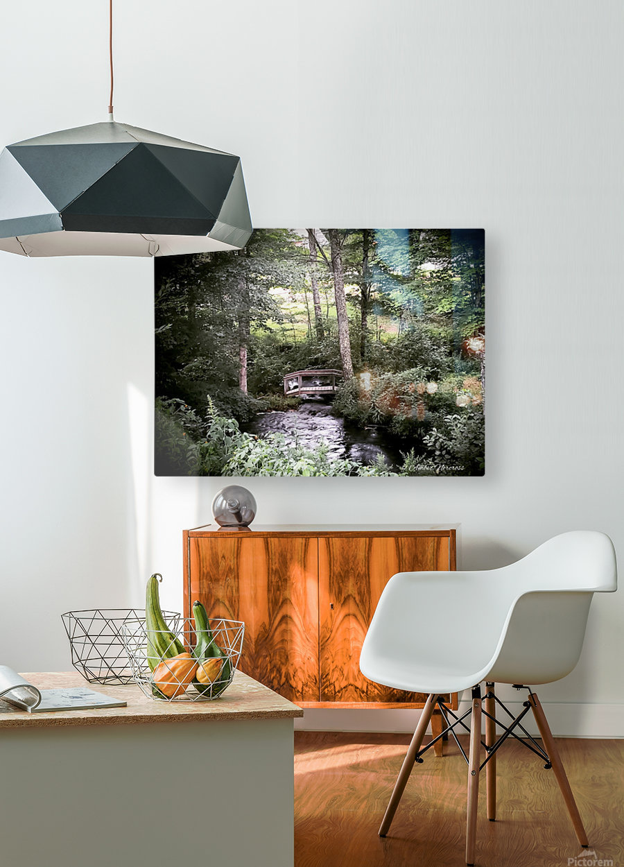 Hidden path  HD Metal print with Floating Frame on Back