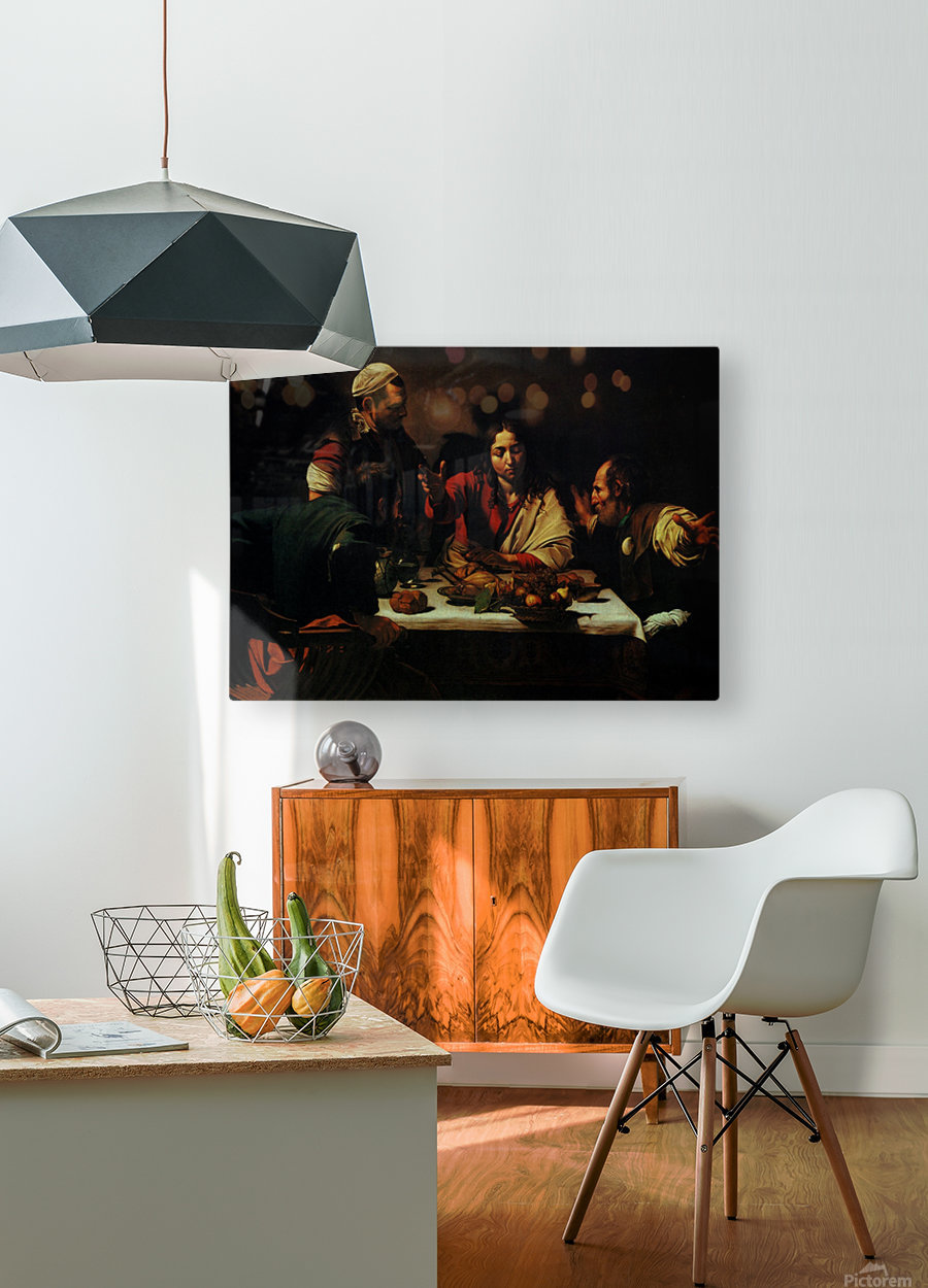 The Dinner  HD Metal print with Floating Frame on Back