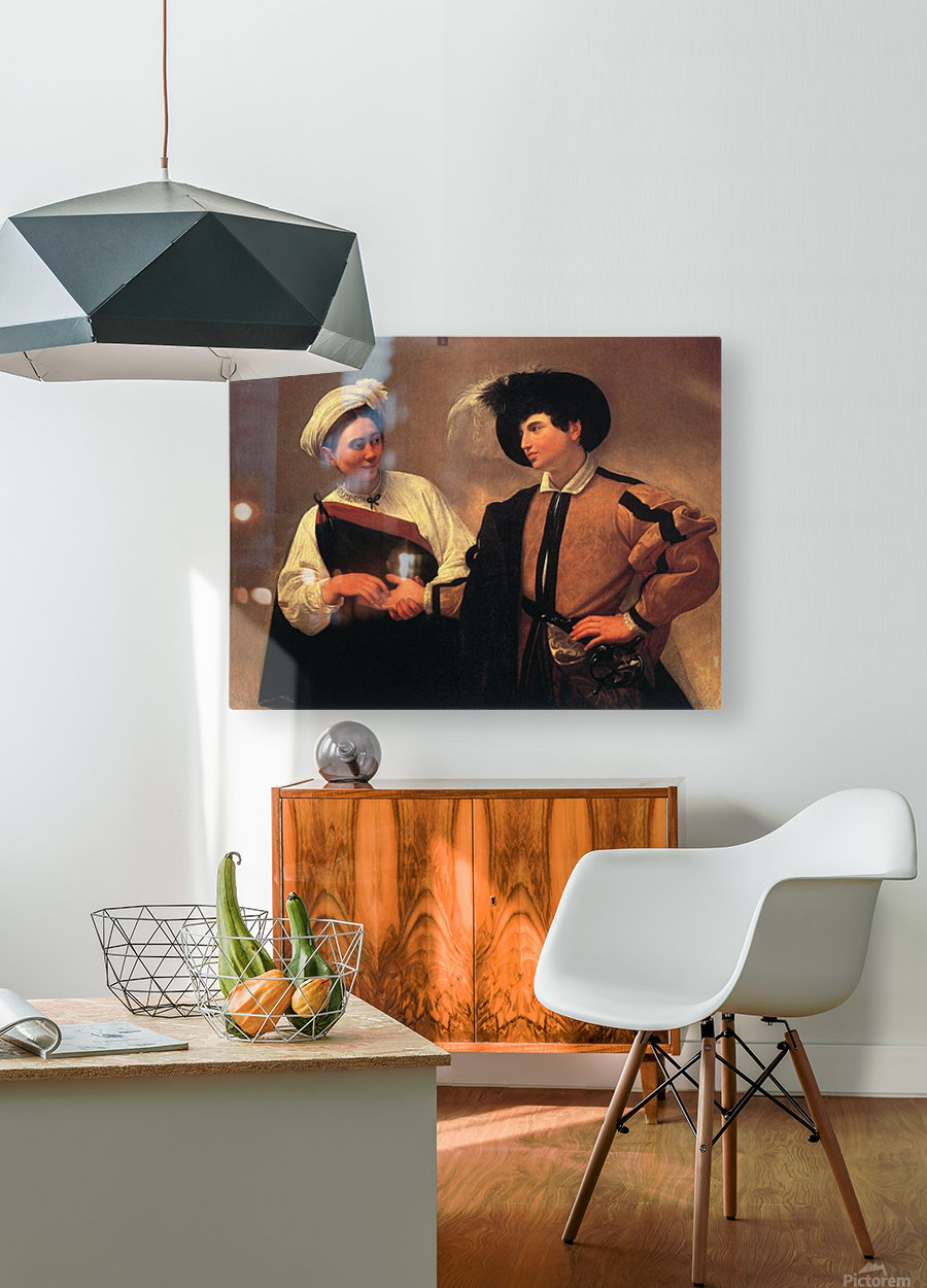 Fortune-Teller  HD Metal print with Floating Frame on Back