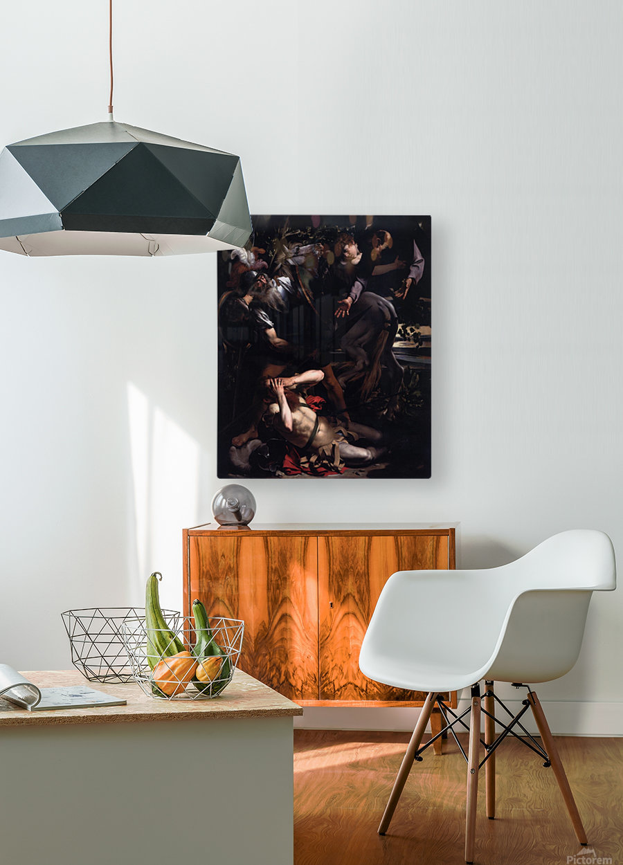 The Conversion of St. Paul  HD Metal print with Floating Frame on Back