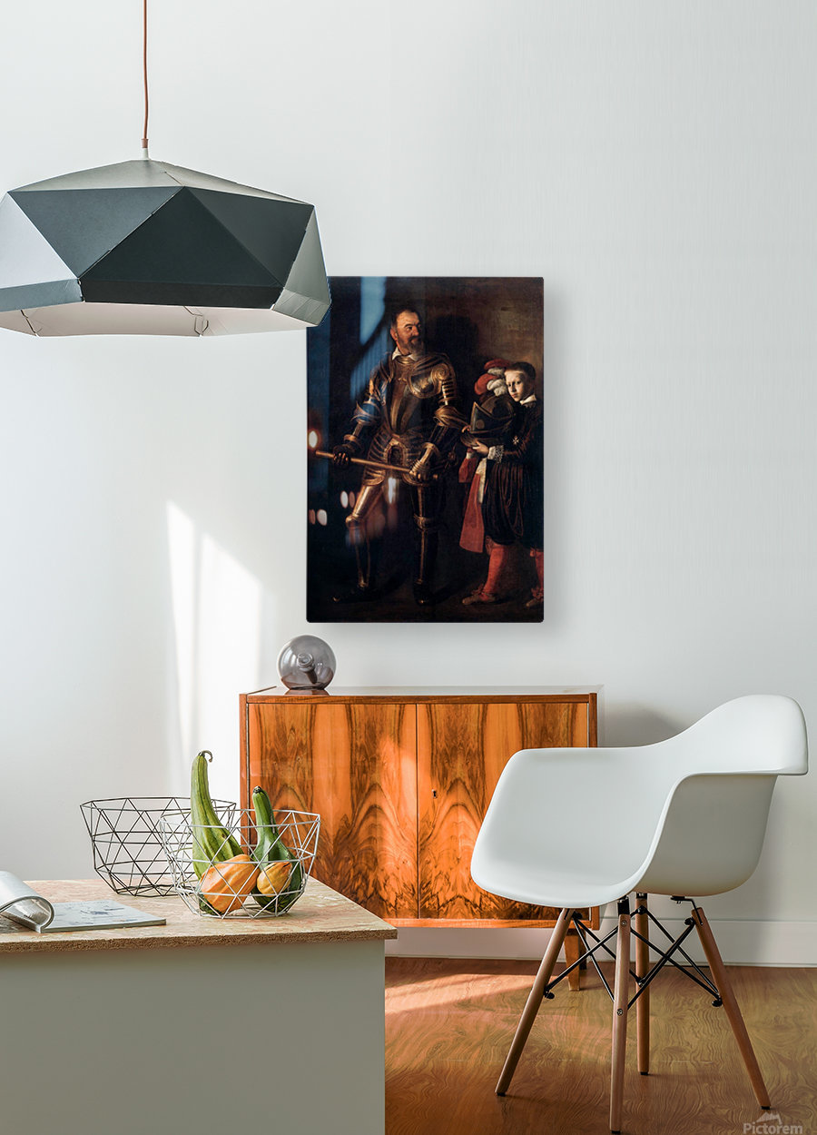 Knight of Malta  HD Metal print with Floating Frame on Back