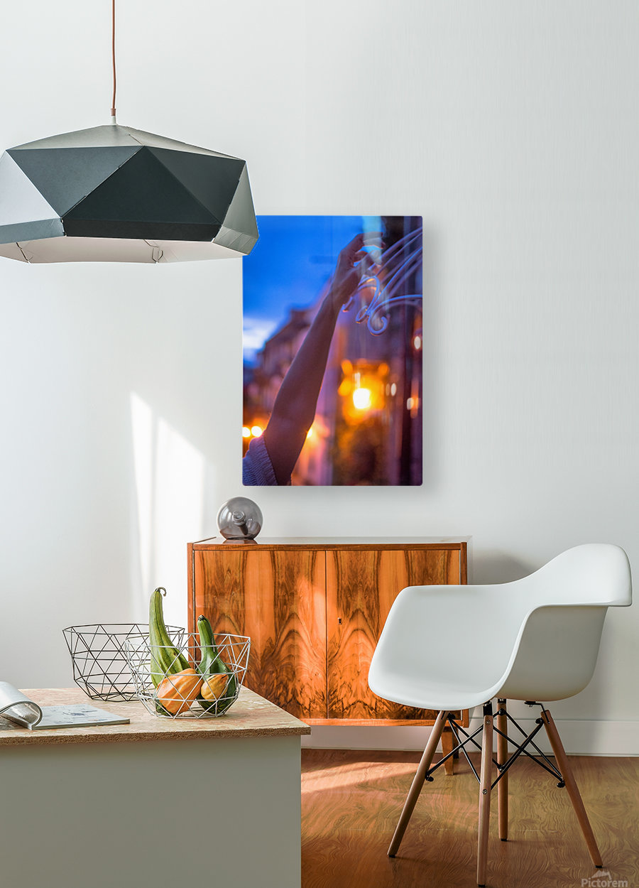 AZY_4615  HD Metal print with Floating Frame on Back