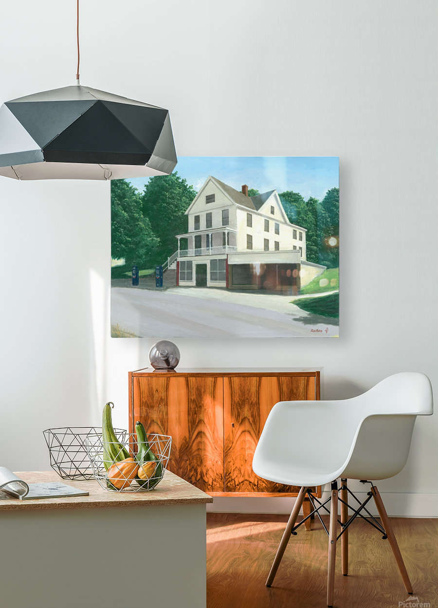 Botsford Store - Newtown Scenes  16X20  HD Metal print with Floating Frame on Back