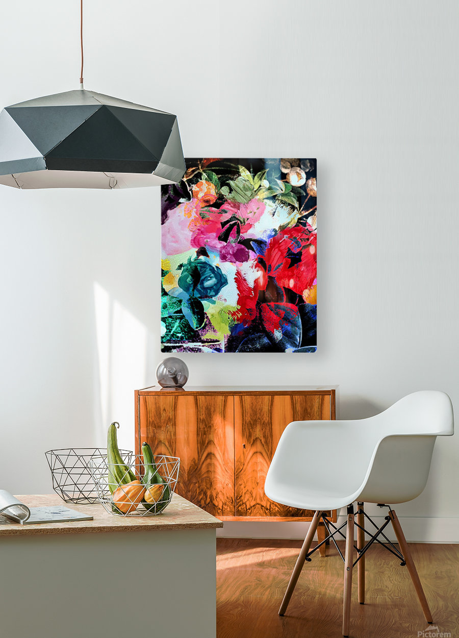 Touched by Nature  HD Metal print with Floating Frame on Back