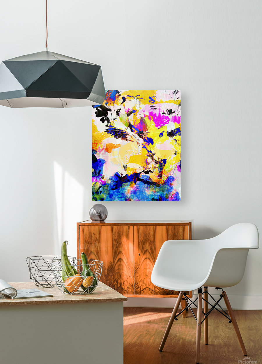 Summer Morning  HD Metal print with Floating Frame on Back