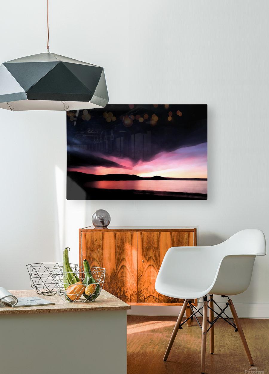 Last Light   HD Metal print with Floating Frame on Back