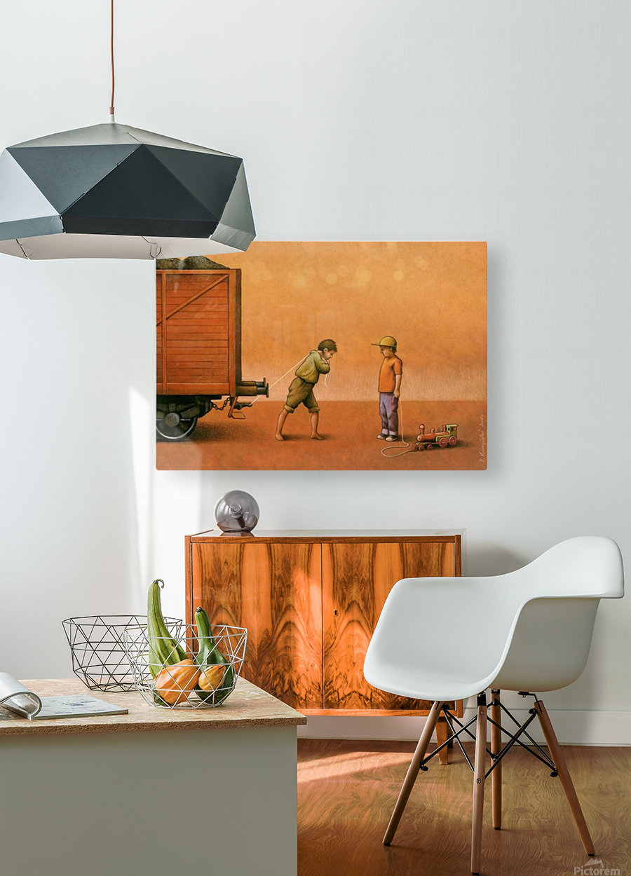 PawelKuczynski34  HD Metal print with Floating Frame on Back