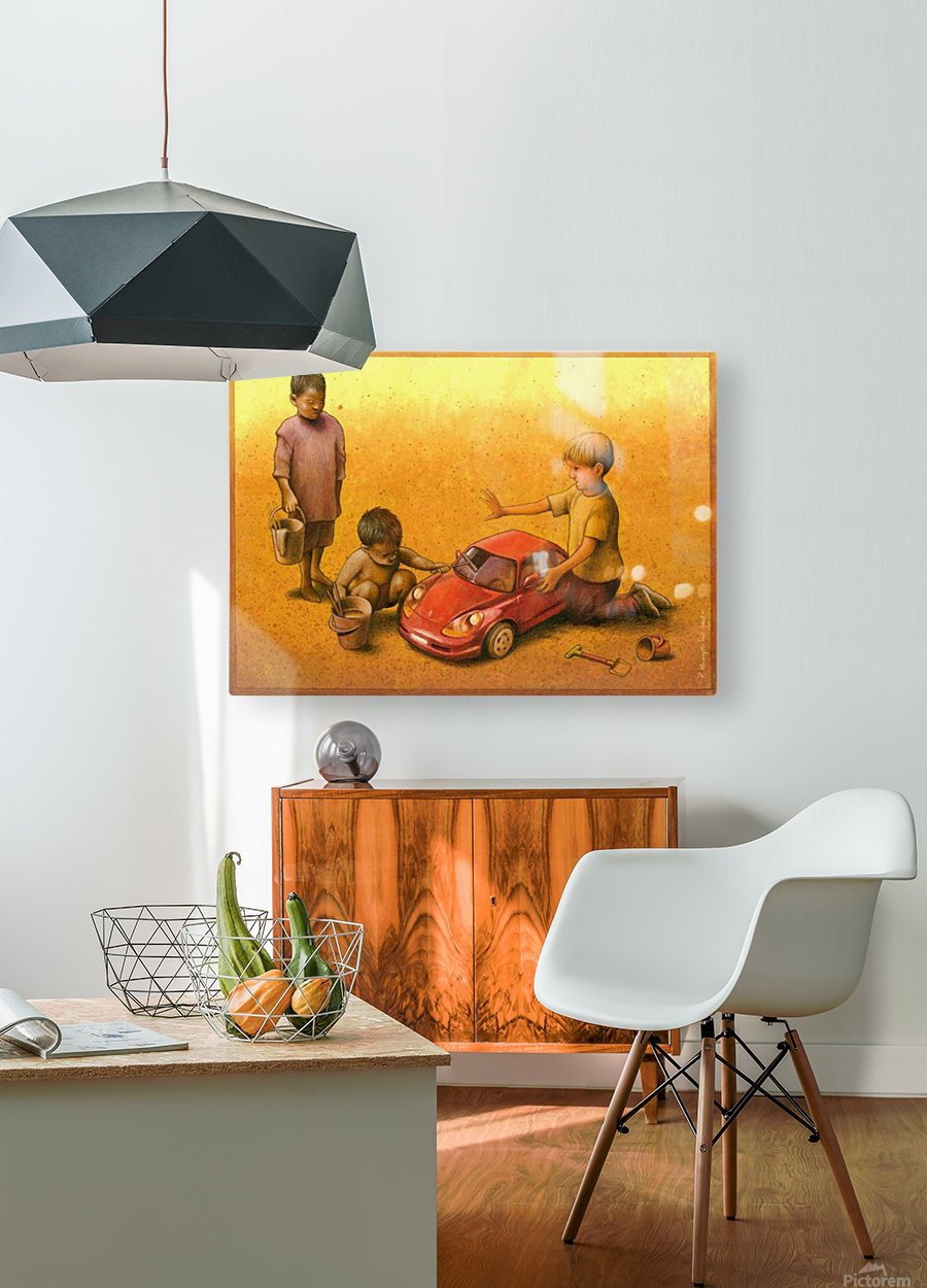 PawelKuczynski35  HD Metal print with Floating Frame on Back