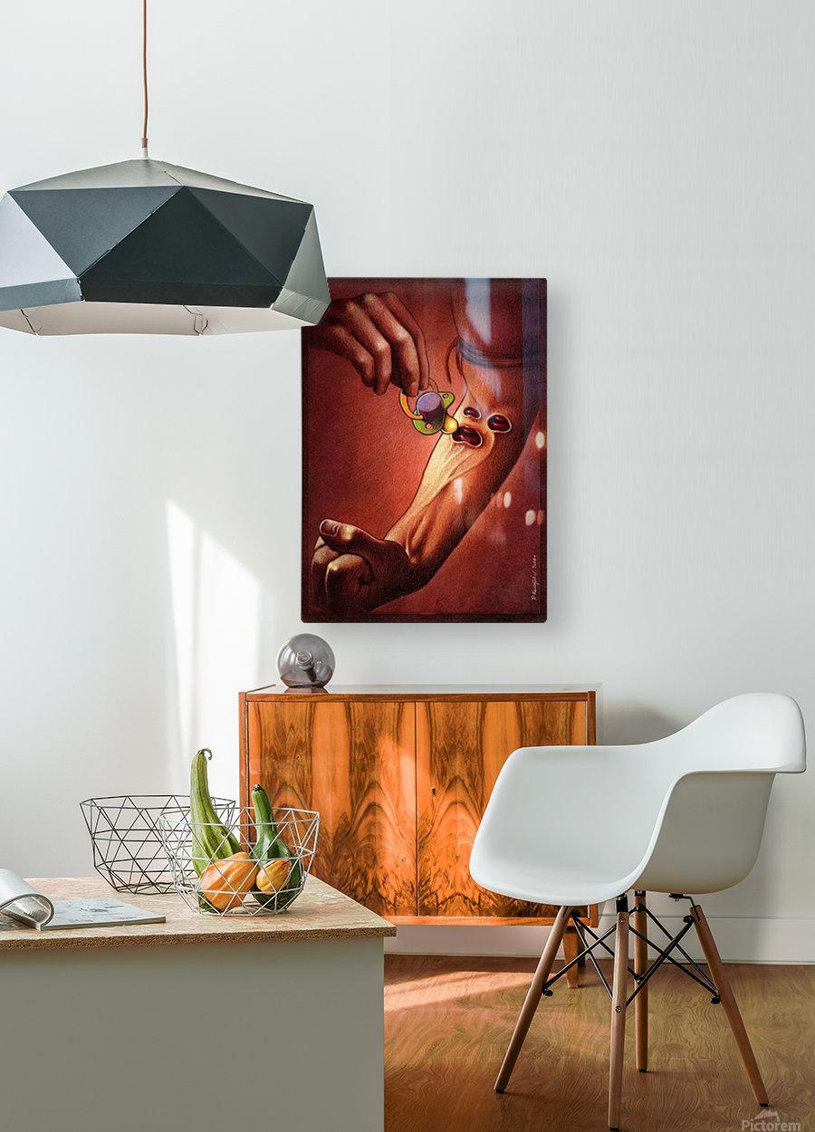 PawelKuczynski36  HD Metal print with Floating Frame on Back