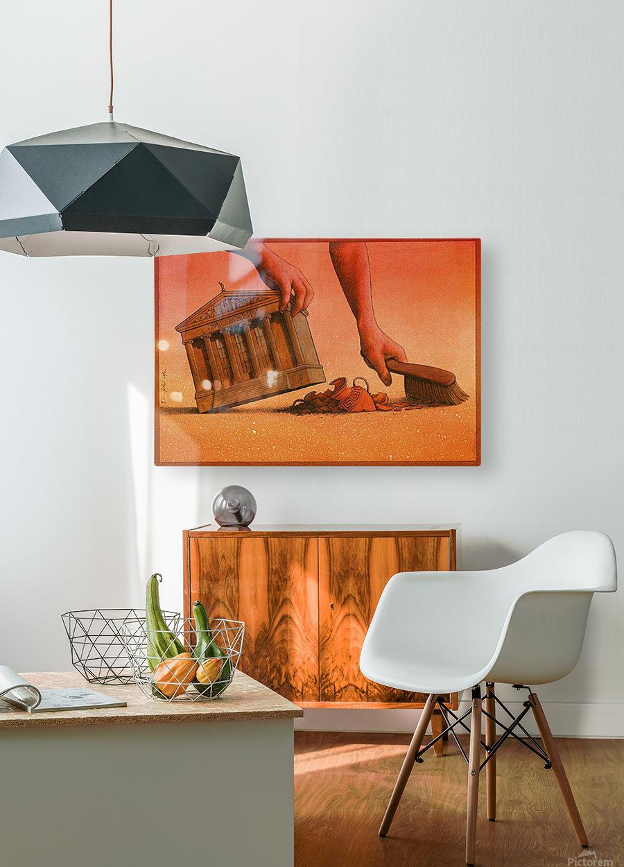 PawelKuczynski40  HD Metal print with Floating Frame on Back