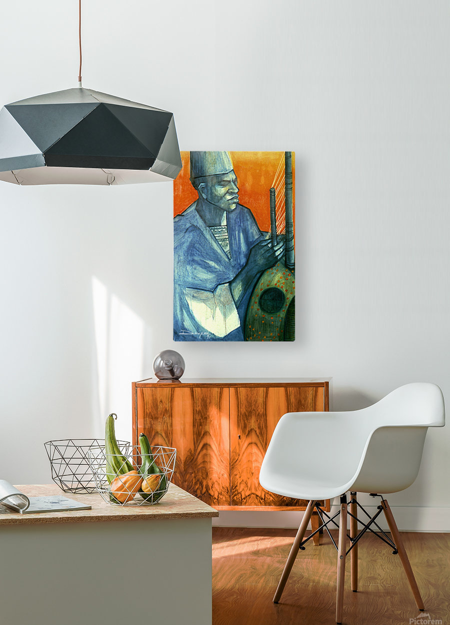 Griot  HD Metal print with Floating Frame on Back
