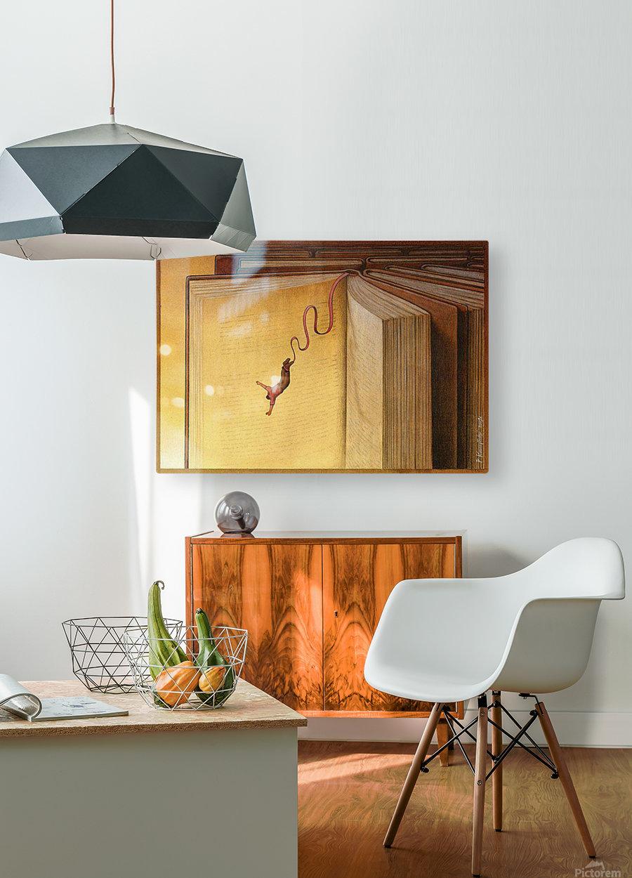 PawelKuczynski41  HD Metal print with Floating Frame on Back