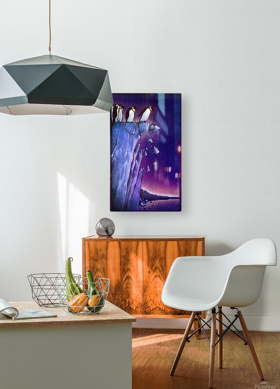 PawelKuczynski44  HD Metal print with Floating Frame on Back