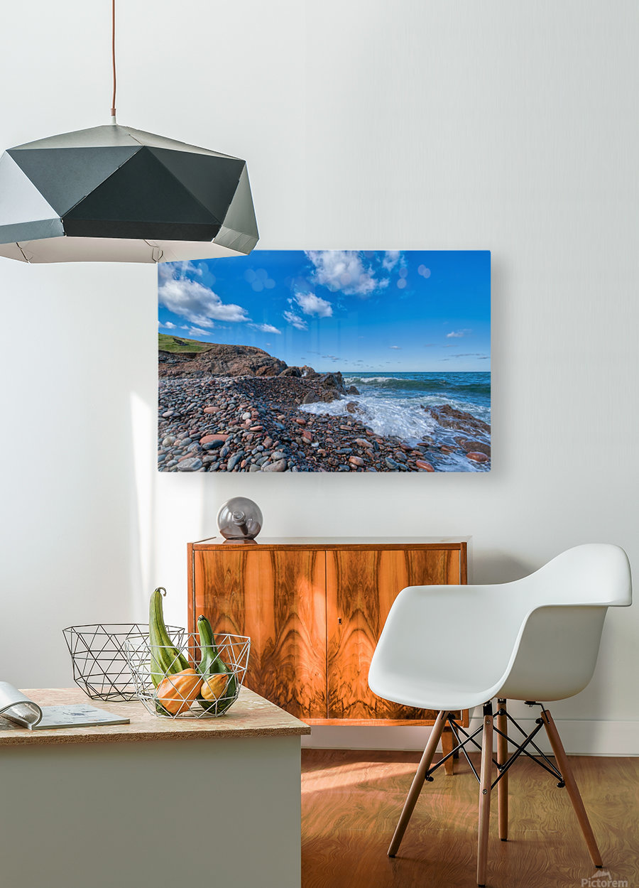 Awash at Corney Brook  HD Metal print with Floating Frame on Back