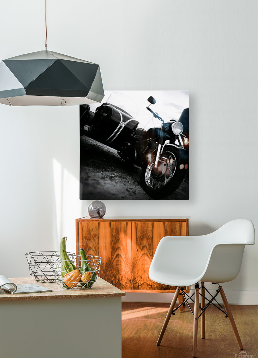 For the Love of Classic  HD Metal print with Floating Frame on Back