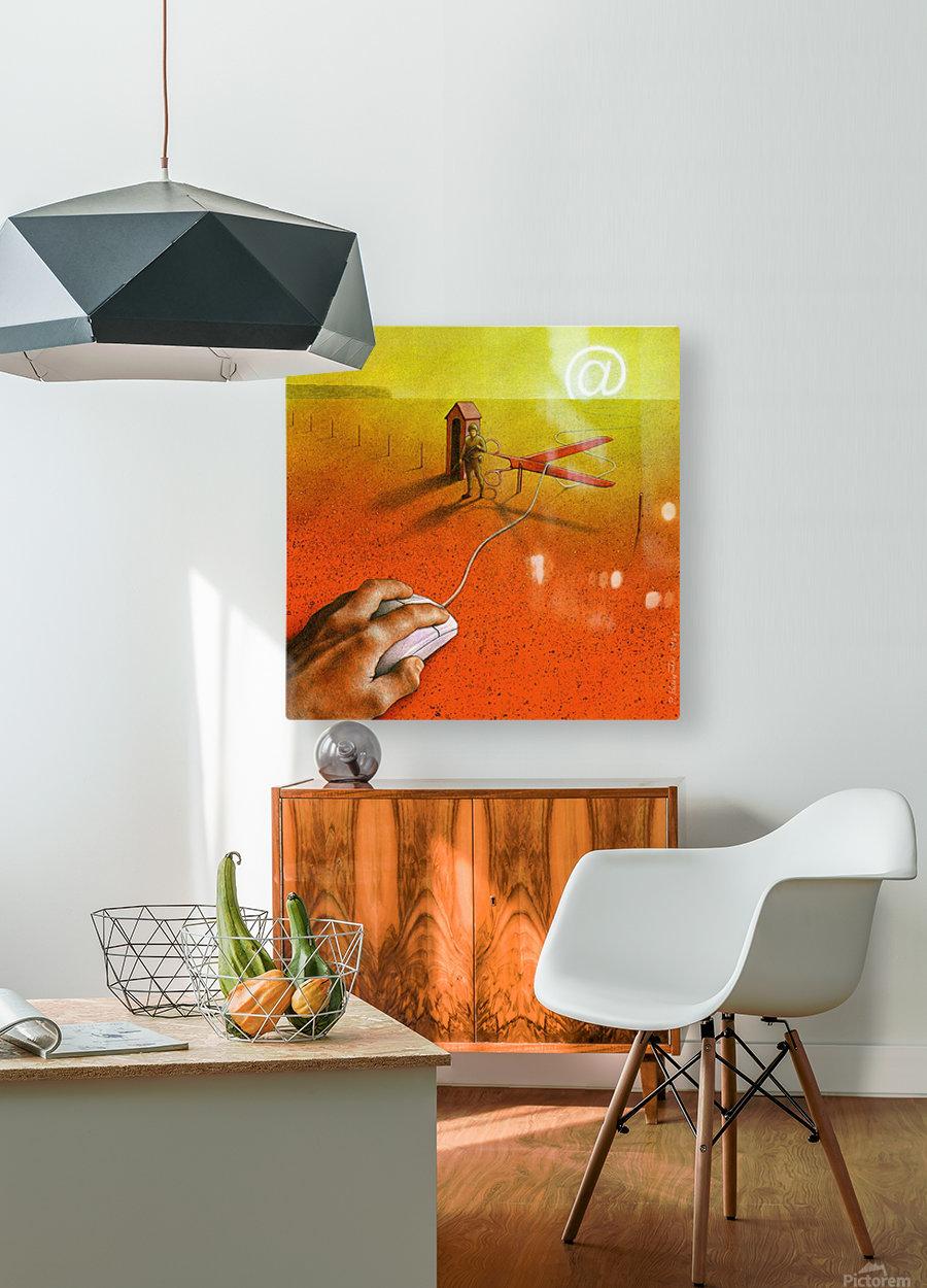 PawelKuczynski63  HD Metal print with Floating Frame on Back