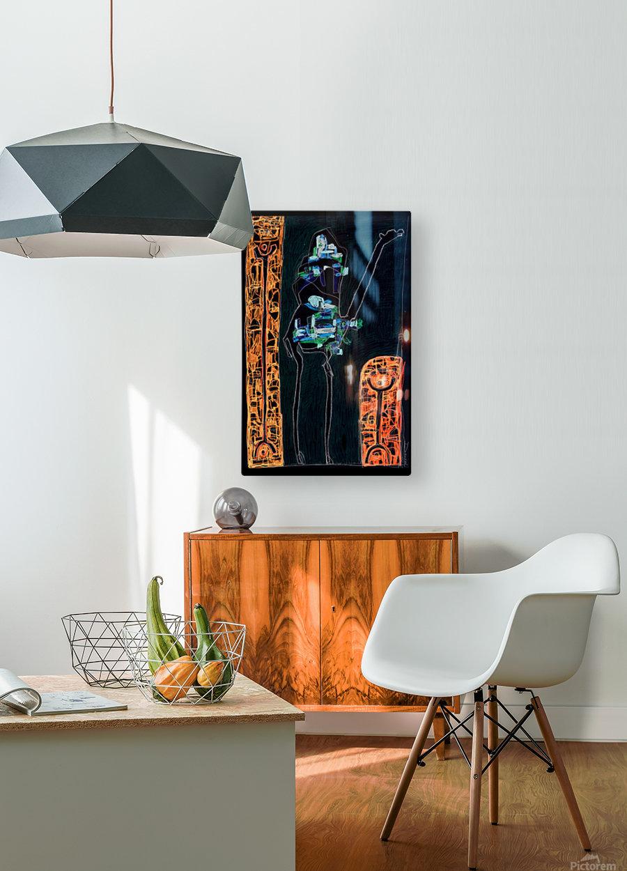 bck Kamel2  HD Metal print with Floating Frame on Back