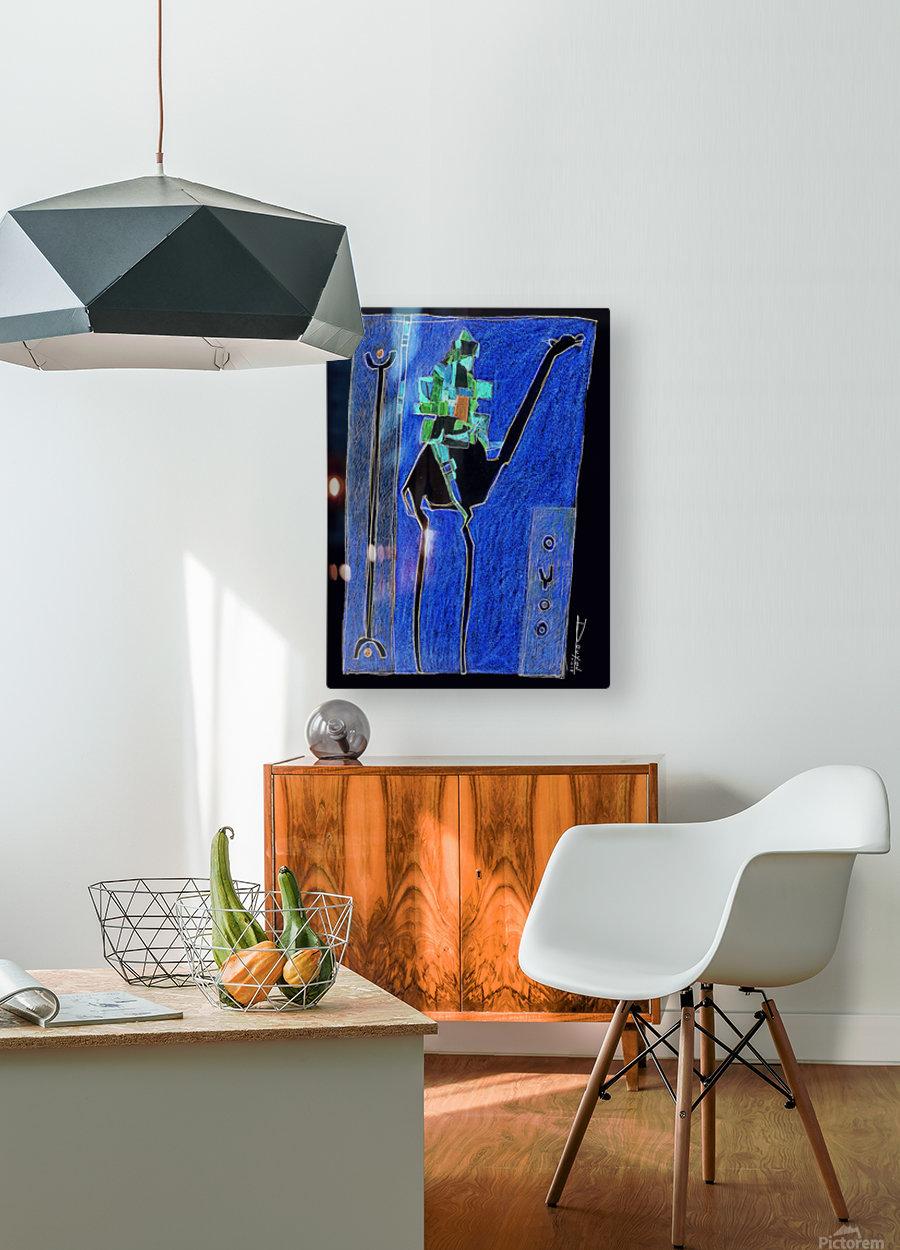 bck Kamel1  HD Metal print with Floating Frame on Back
