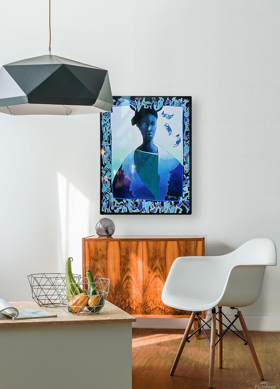 Valse des illusions  HD Metal print with Floating Frame on Back