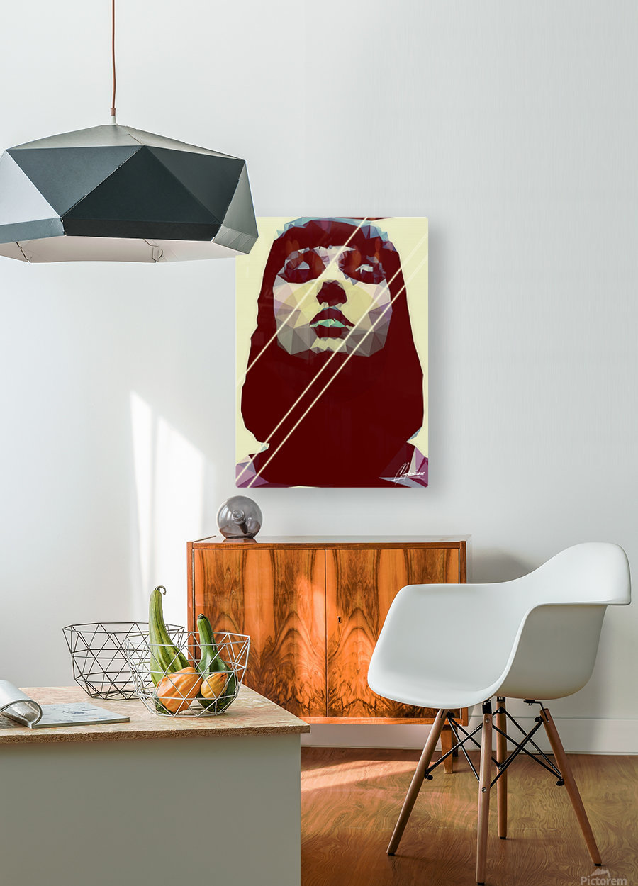 Surreal Identity  HD Metal print with Floating Frame on Back