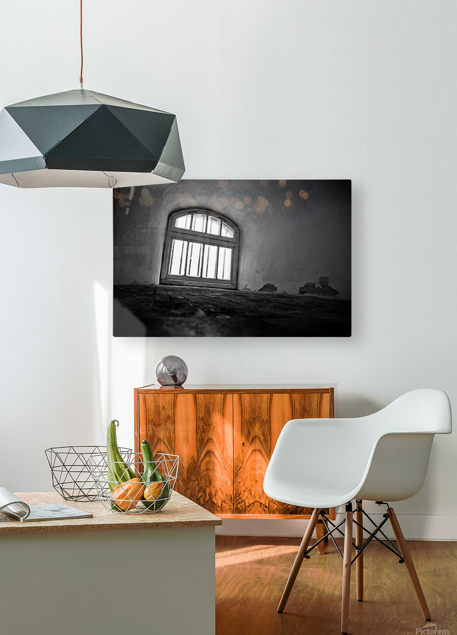 Prisoners View  HD Metal print with Floating Frame on Back
