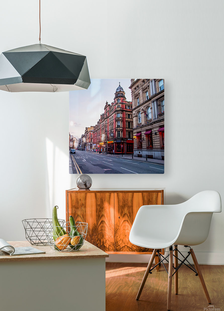 Liverpool street  HD Metal print with Floating Frame on Back