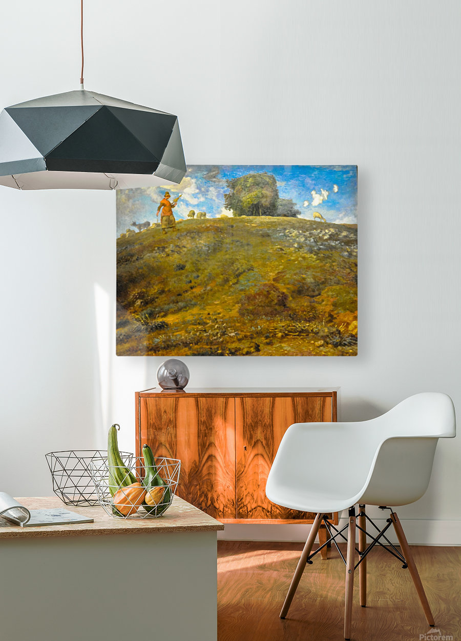 In the Auvergne  HD Metal print with Floating Frame on Back