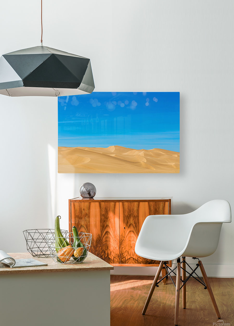 Painters dream  HD Metal print with Floating Frame on Back