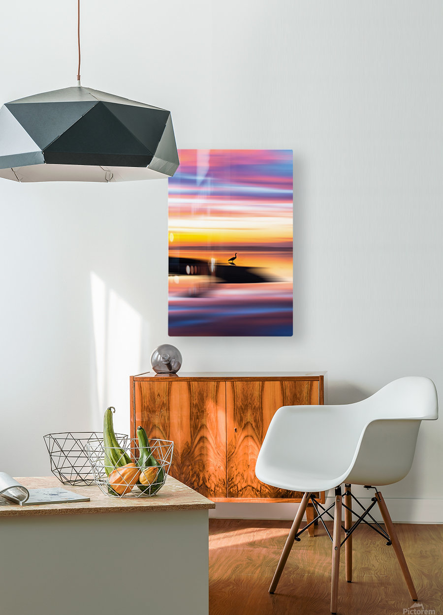 Dreamlike  HD Metal print with Floating Frame on Back