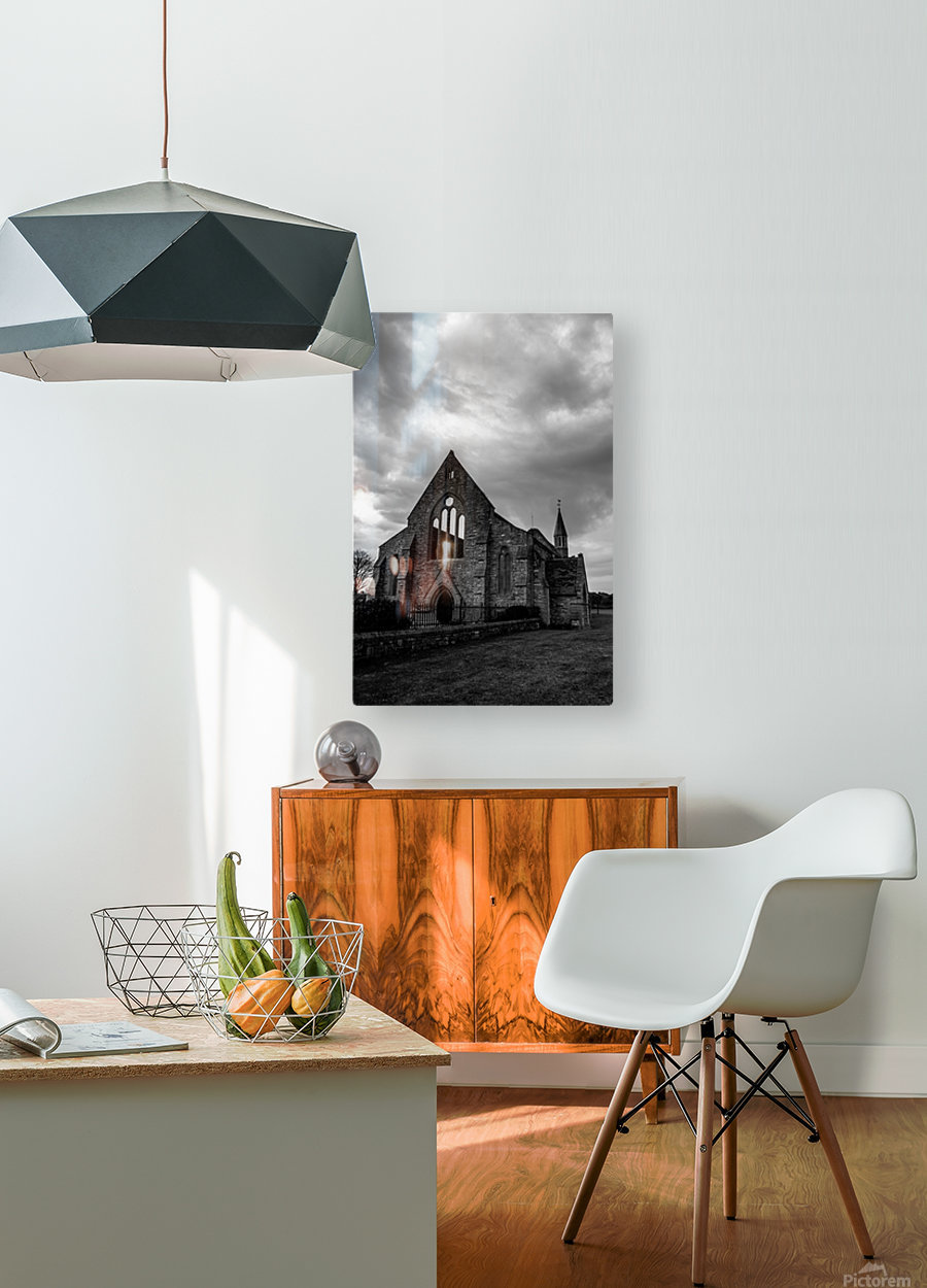 Garrison Church Portsmouth  HD Metal print with Floating Frame on Back
