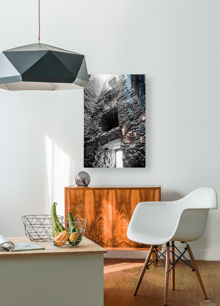 Kenilworth Castle Ruins  HD Metal print with Floating Frame on Back