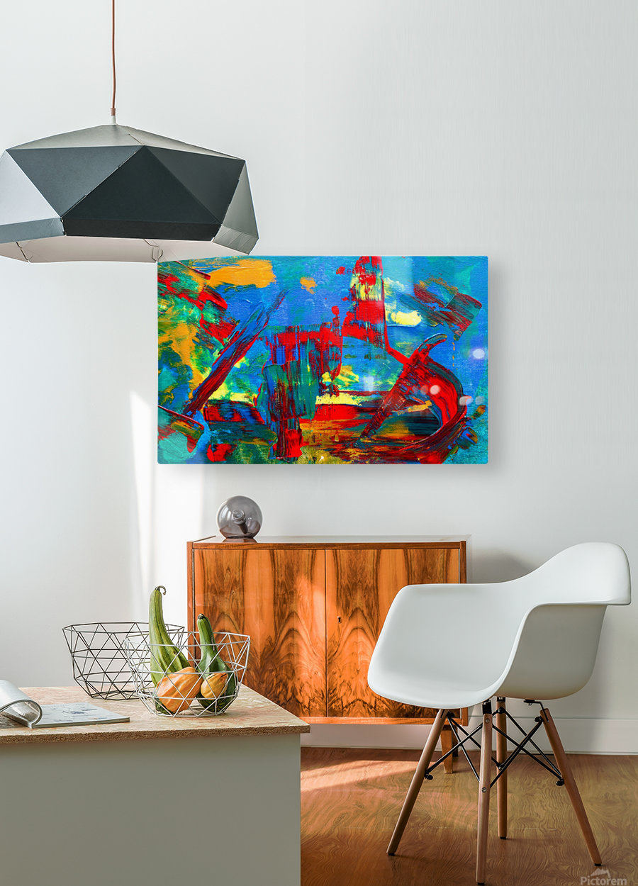 Expressionism  HD Metal print with Floating Frame on Back