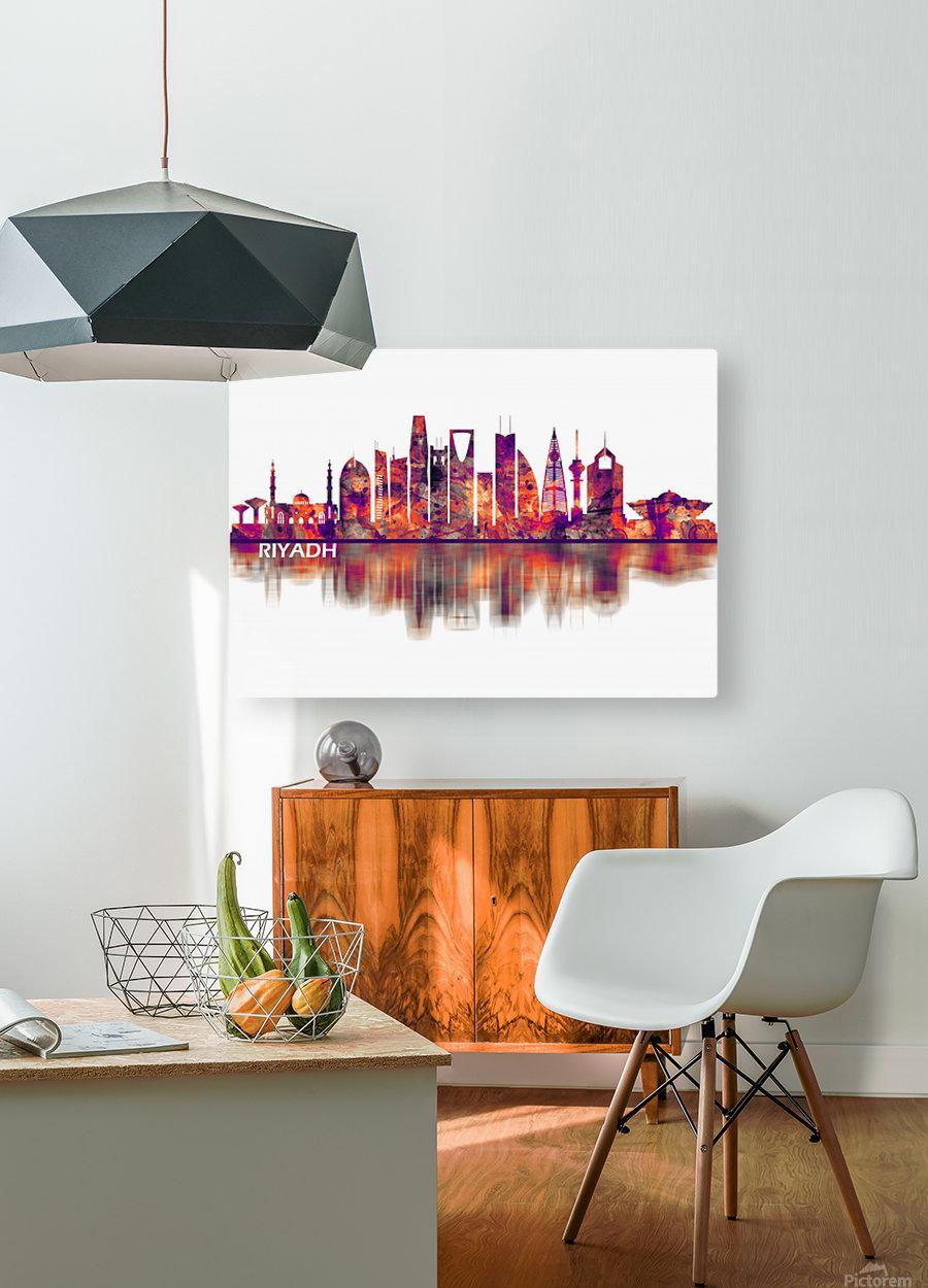 Riyadh Saudi Arabia Skyline  HD Metal print with Floating Frame on Back