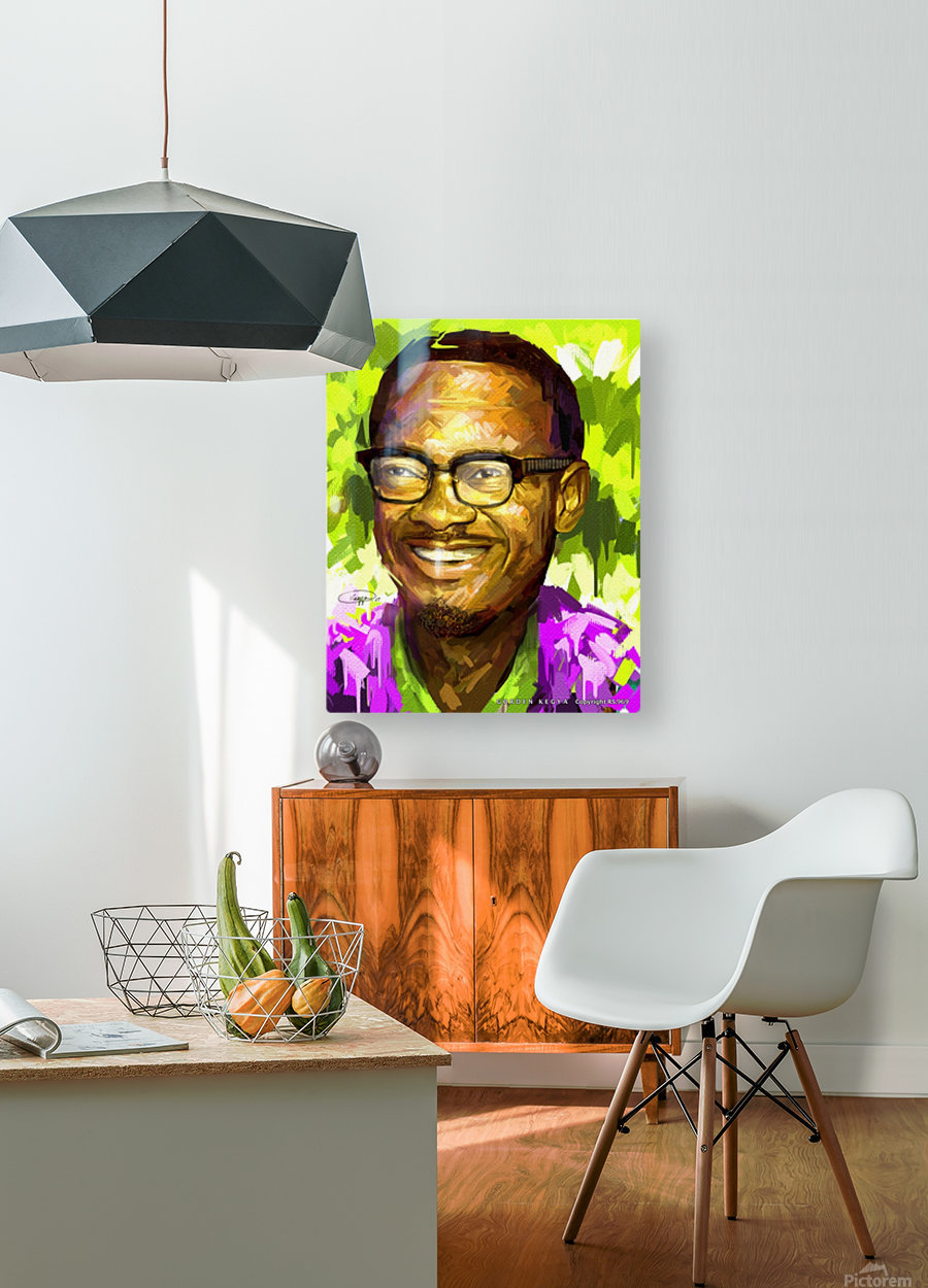 025  HD Metal print with Floating Frame on Back