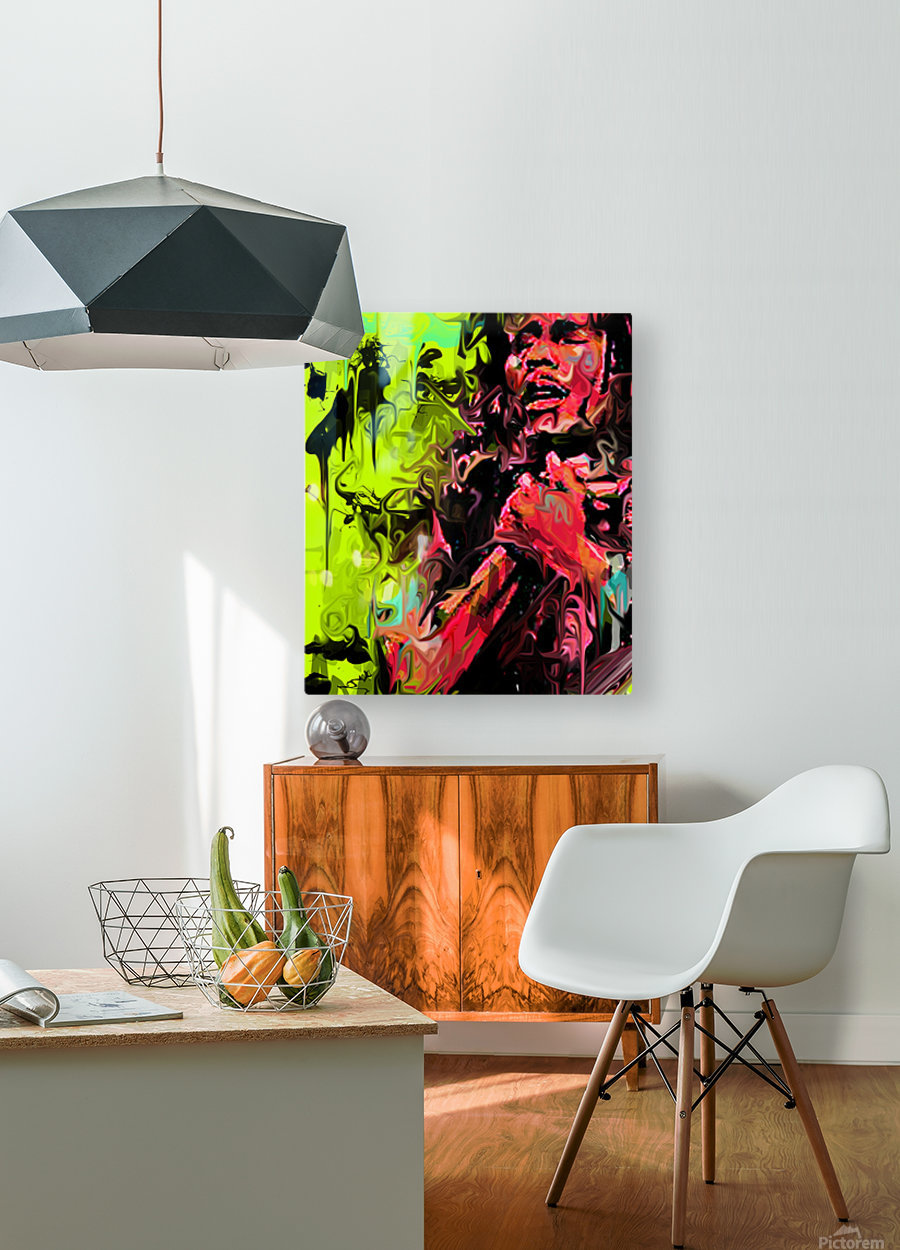 Bmarley3  HD Metal print with Floating Frame on Back