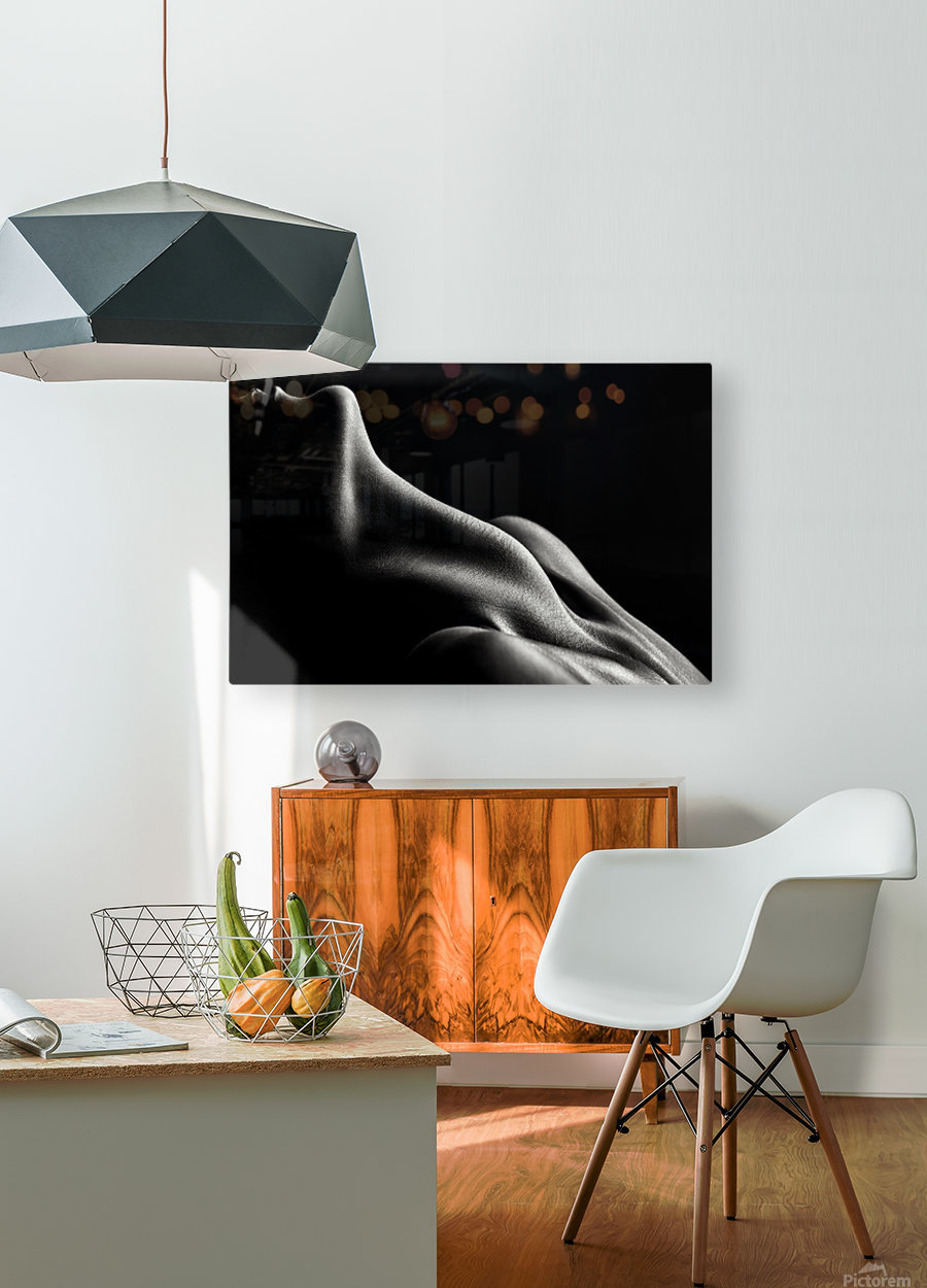Figurative Body Parts 3  HD Metal print with Floating Frame on Back