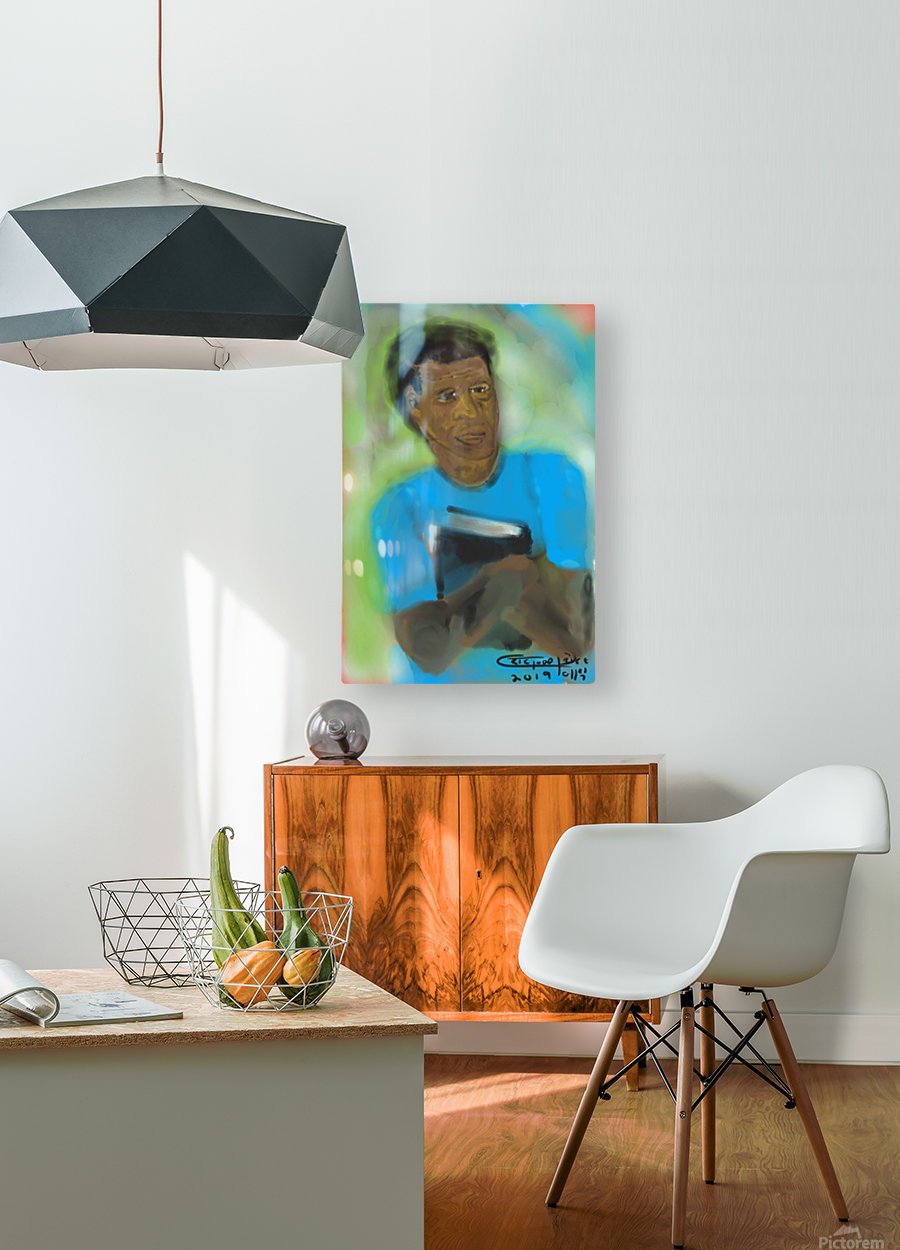 Knowledge  HD Metal print with Floating Frame on Back
